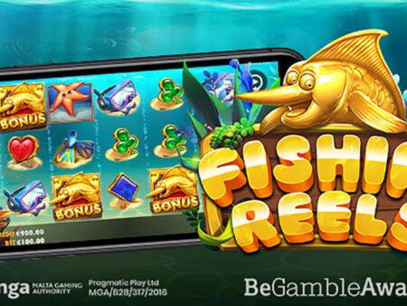 Pragmatic Play merge la pescuit în ultima lansare Fishin' Reels