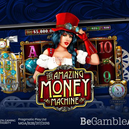 Pragmatic Play Se Pregătește Să Dea Câștiguri În The Amazing Money Machine