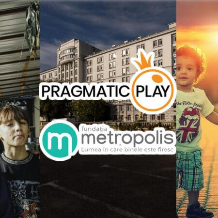 Pragmatic Play Donează €21.000 Fundației Filantropice Metropolis