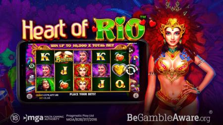Pragmatic Play Îmbrățișează Carnavalul Cu Heart Of Rio