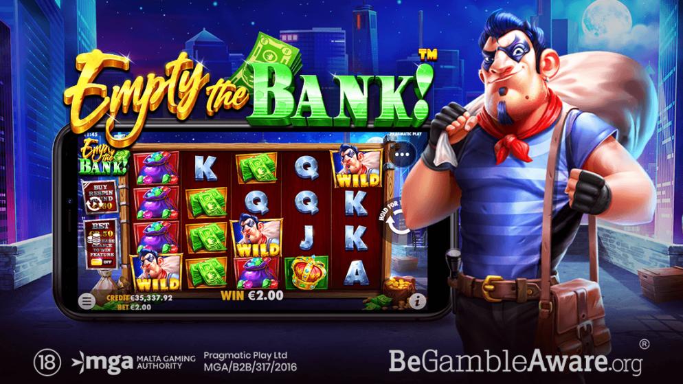 Pragmatic Play oferă planul pentru o evadare perfectă în Empty The Bank