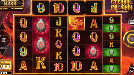 Blueprint Gaming se aprinde cu Eternal Phoenix Megaways